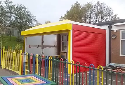 Sheltered Play Areas