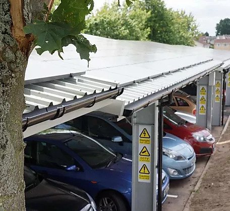 T Frame Carports and EV Charging